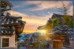 Mobile - PC Bukchon Hanok Village jigsaw puzzle
