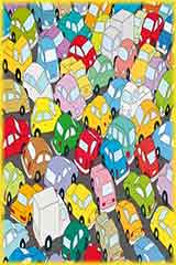 Car traffic jam jigsaw puzzle