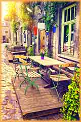 European Cafe jigsaw puzzle