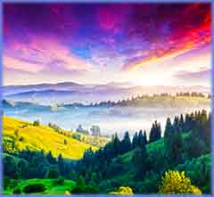 Mobile - PC Group of  Majestic Carpathian mountain jigsaw puzzle