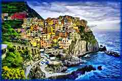 Mobile - PC Manarola in Liguria jigsaw puzzle
