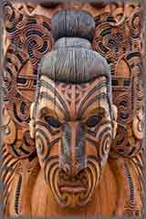 Maori carving jigsaw puzzle