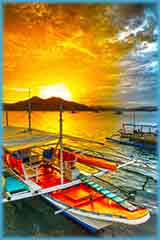 Philippine boats jigsaw puzzle