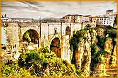 Mobile - PC Ronda in Malaga Spain jigsaw puzzle