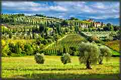 Mobile - PC Tuscany Village jigsaw puzzle