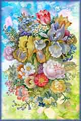 Watercolor Flower jigsaw puzzle
