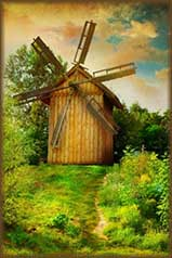 art Windmill jigsaw puzzle