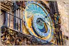 Mobile - PC medieval astronomical clock jigsaw puzzle