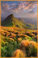 mountain sunrise jigsaw puzzle