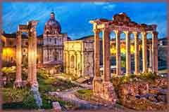 Mobile - PC roman ruins rome italy jigsaw puzzle