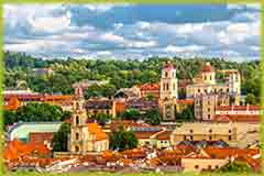 Mobile - PC view_of_lithuania_town jigsaw puzzle